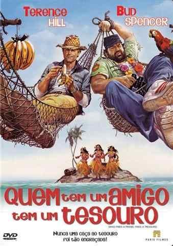 Dvd - Quem Tem Um Amigo Tem Um Tesouro - 1981  - FILMES RAROS EM DVD