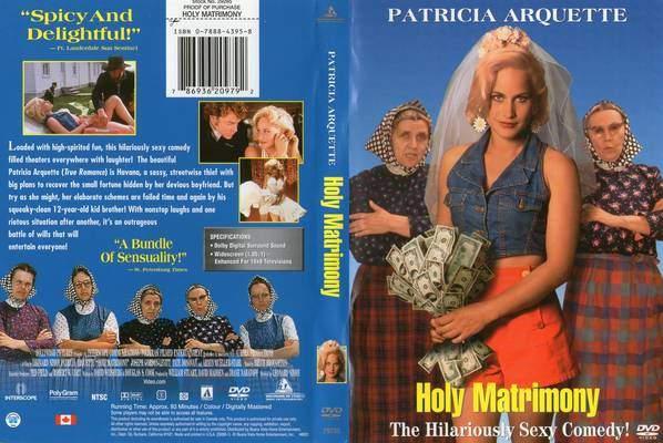 Santo Matrimônio 1994 (Holy Matrimony) Raríssimo  - FILMES RAROS EM DVD