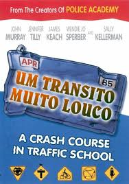DVD Trânsito Muito Louco - 1985 -   - FILMES RAROS EM DVD