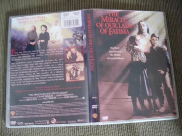 Dvd O Milagre De Fátima (1952) A Virgem de Fátima Raríssimo  - FILMES RAROS EM DVD