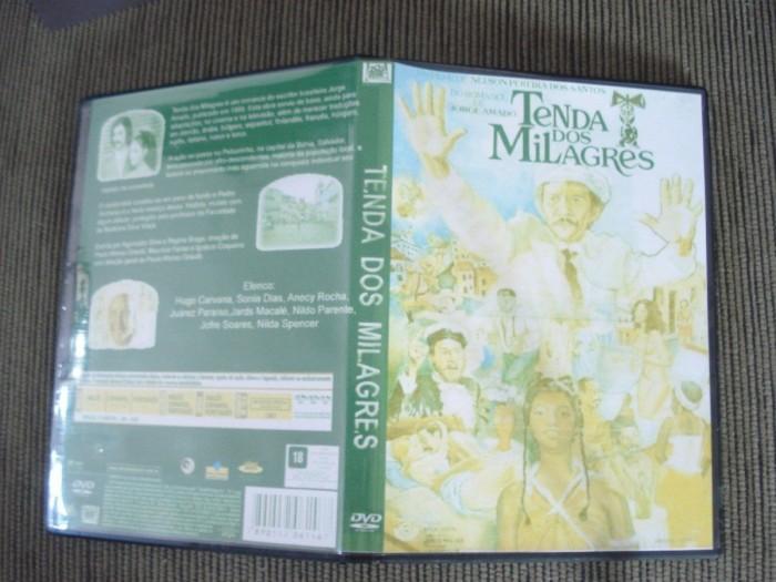 Dvd Filme Tenda Dos Milagres (1977) Raríssimo - Jorge Amado  - FILMES RAROS EM DVD
