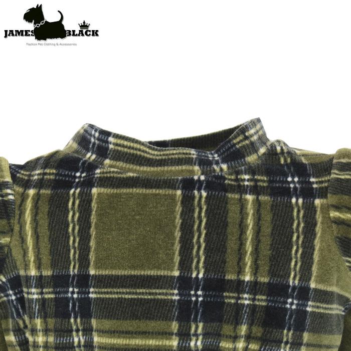 Camiseta Plush Xadrez Escocês Verde Dupla Face Gola Careca