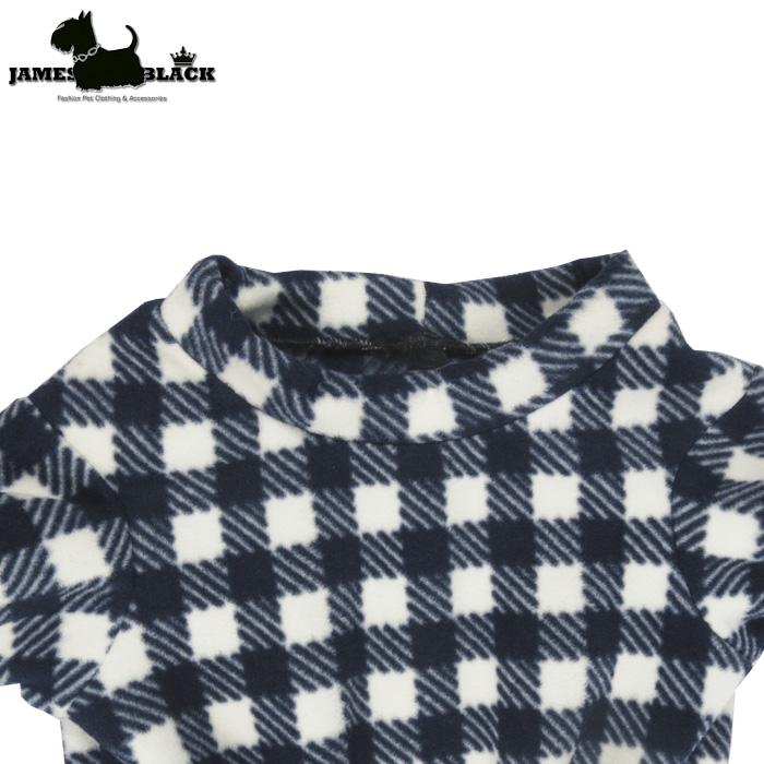 Camiseta Soft Xadrez Vichy Gola Careca Azul e branco