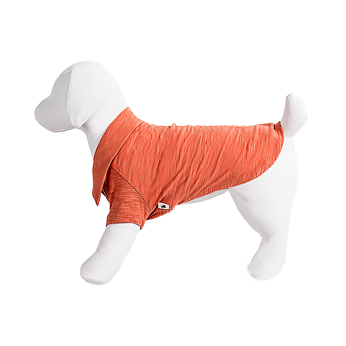 Camiseta Polo Pet Ferrugem
