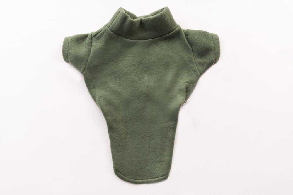 Blusa soft Lisa Verde Gola Careca