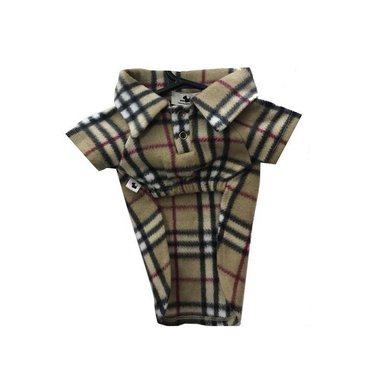 Camisa Pet Polo Soft Burberry