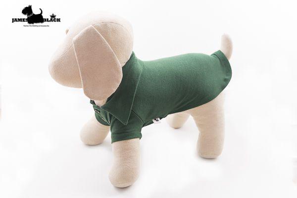 Polo Pet Verde Escuro