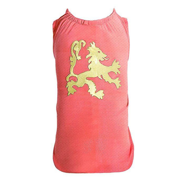 Camiseta DryFit Micro furos Leon Dourado - Coral
