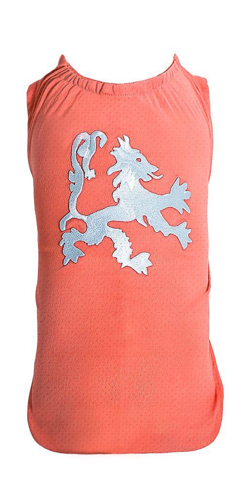 Camiseta DryFit Micro furos Leon Prata - Coral