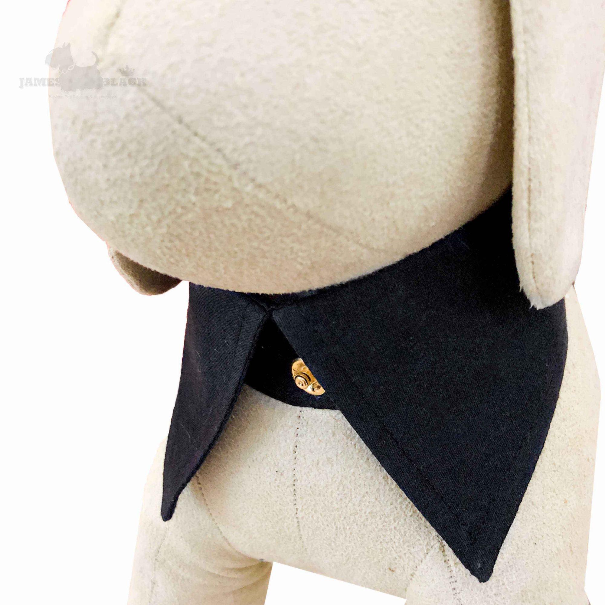 Colarinho com Gravata removível Preto