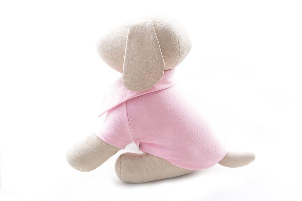 Polo Pet Rosa com Botões
