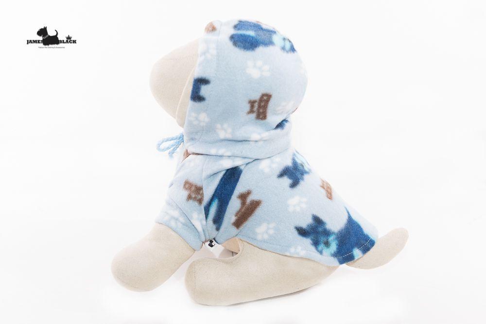 Moletom Soft Azul Claro com Cachorrinho