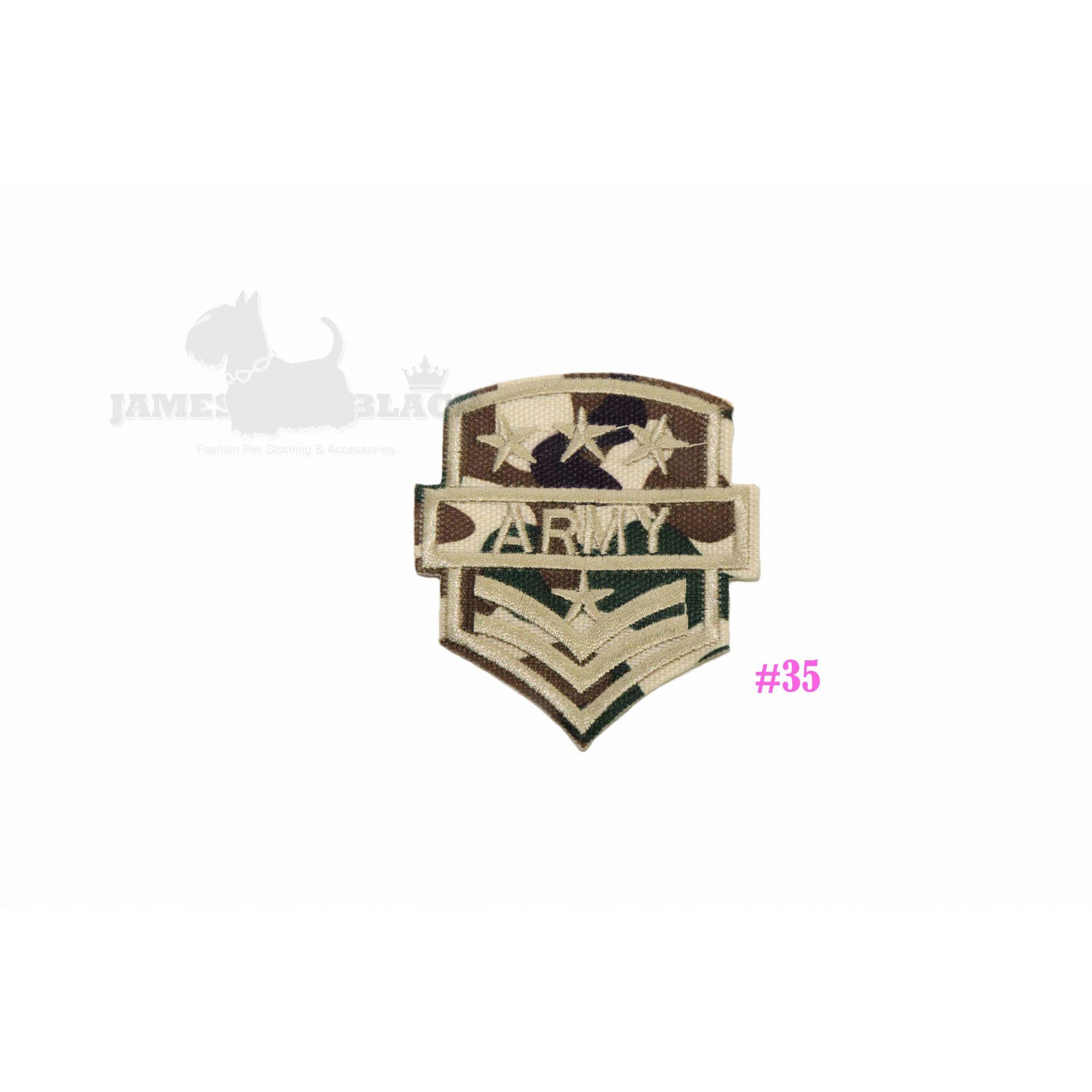 Patch Militar personalizar