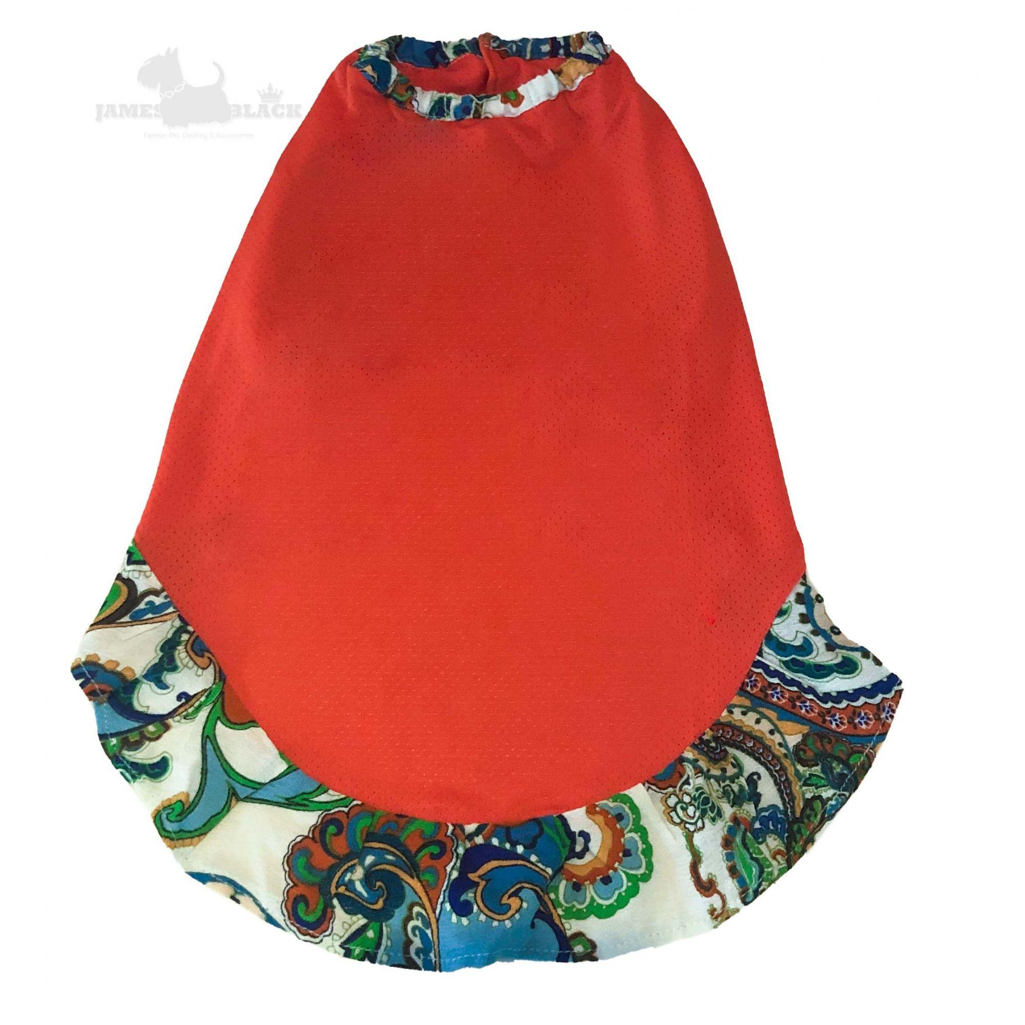 Vestido DryFit Laranja Colorido