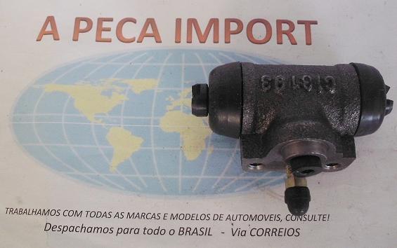 CILINDRO RODA TRASEIRO CHERY FACE 1.3 DA RODA  - A PEÇA IMPORT