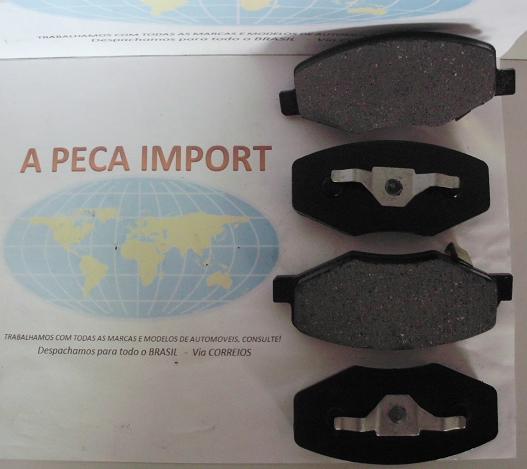 PASTILHA DE FREIO DIANTEIRO CHERY FACE 1.3 16V COM TRAVA  - A PEÇA IMPORT