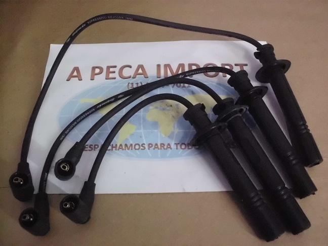 CABOS DE VELAS DE IGNIÇÃO CHERY CIELO 2010...(Reposição)  - A PEÇA IMPORT