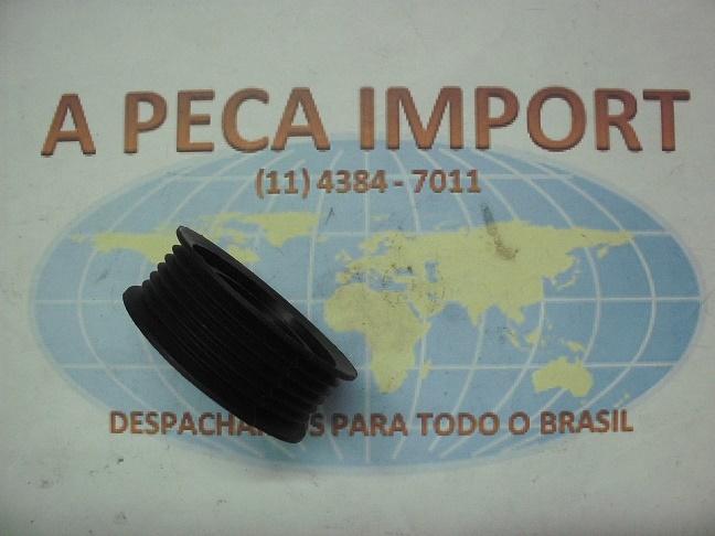 POLIA ESTRIADA DO TENSOR DO ALTERNADOR CHERY TIGGO 2.0 16V  - A PEÇA IMPORT