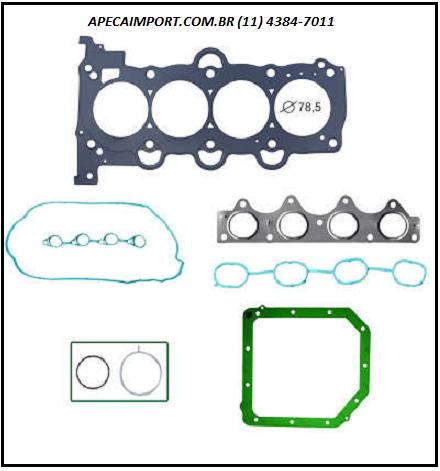 JUNTAS SUPERIOR DO CABEÇOTE DO MOTOR  HB20 1.6 16V FLEX (G4FC / G4FA)  - A PEÇA IMPORT