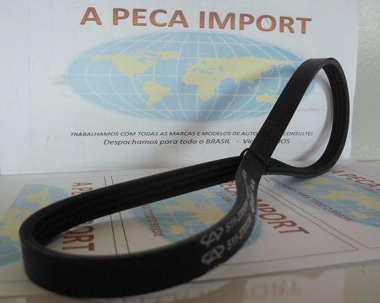CORREIA AR CONDICIONADO RELY PICAPE E VAN 1.1 16V  - A PEÇA IMPORT