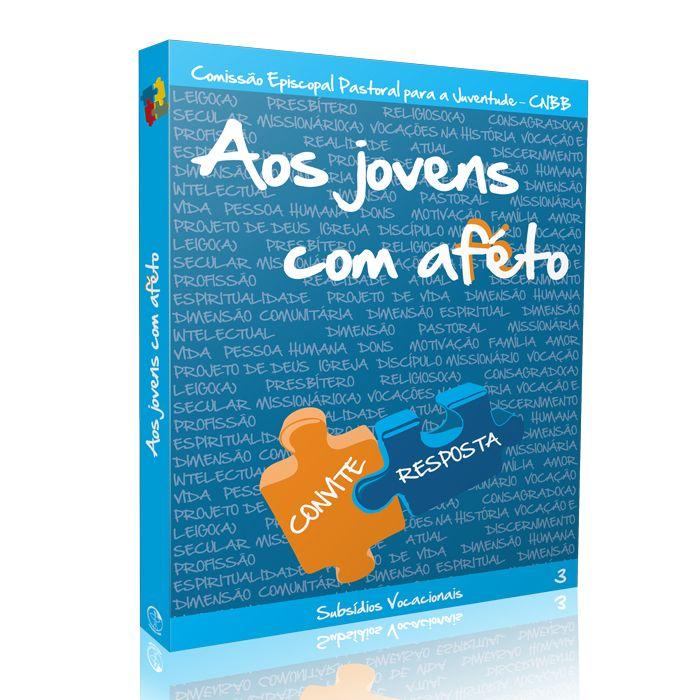 Aos Jovens com Afeto - Convite Resposta - VOL 3 Azul  - Pastoral Familiar CNBB