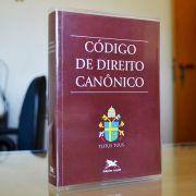 Código de Direito Canônico - Capa plástica
