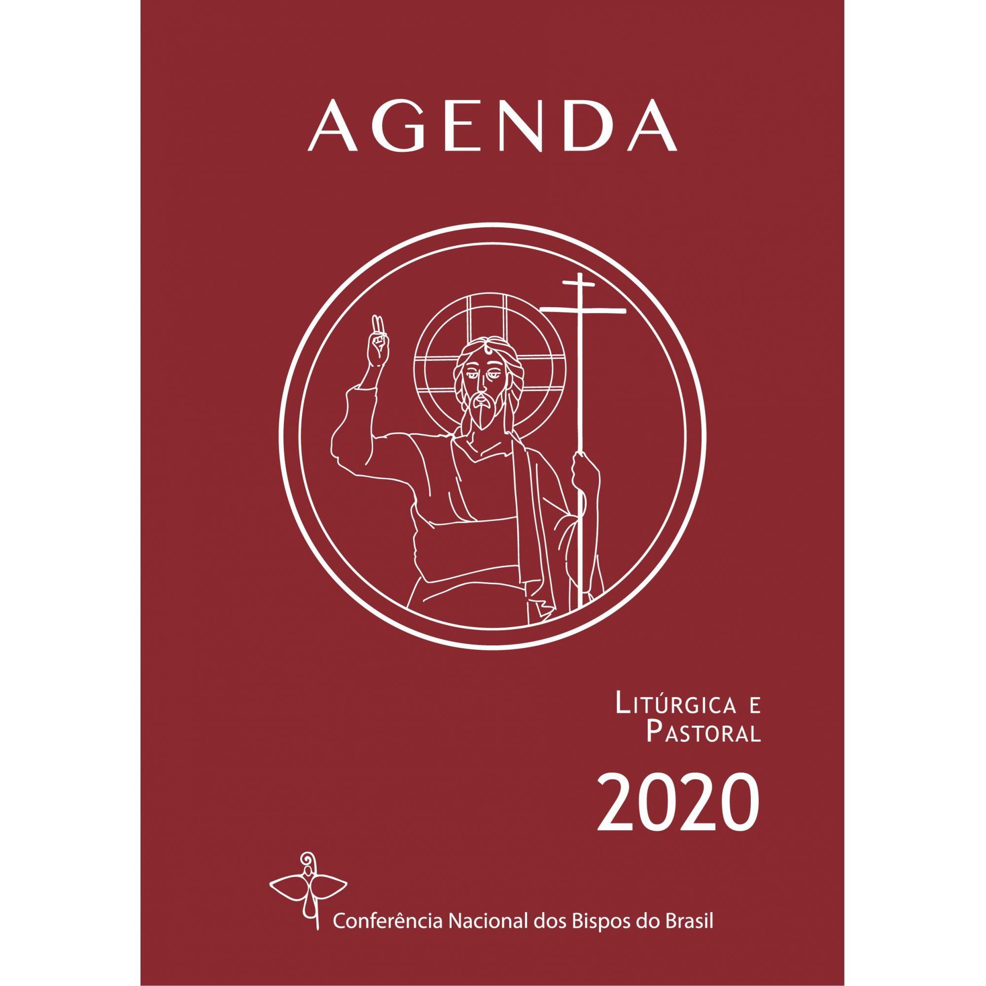Agenda Litúrgica e Pastoral 2020 - Capa Cristal  - Pastoral Familiar CNBB