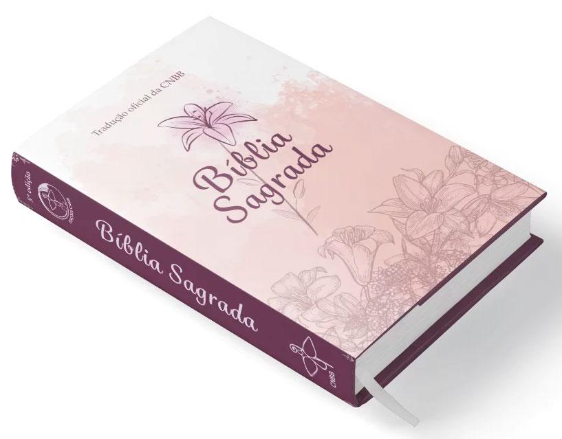 Bíblia Sagrada - Capa feminina  - Pastoral Familiar CNBB