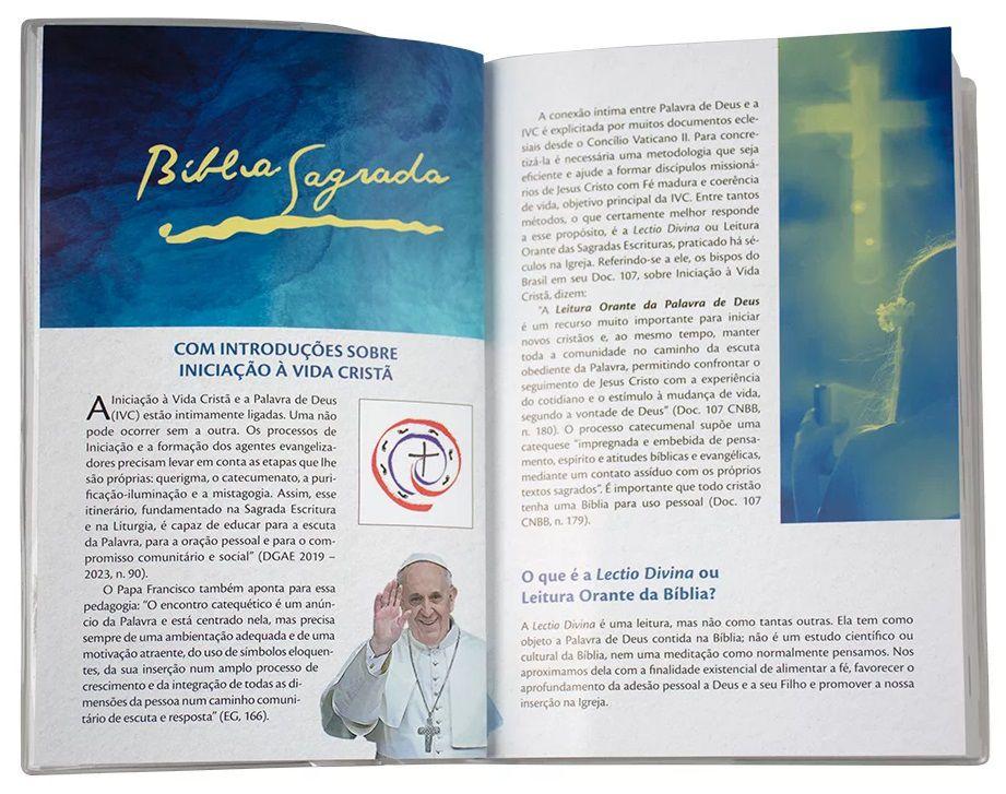 Bíblia Sagrada - Iniciação a Vida Cristã  - Pastoral Familiar CNBB