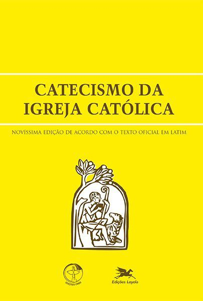 Catecismo da Igreja Católica - Capa Cristal  - Pastoral Familiar CNBB