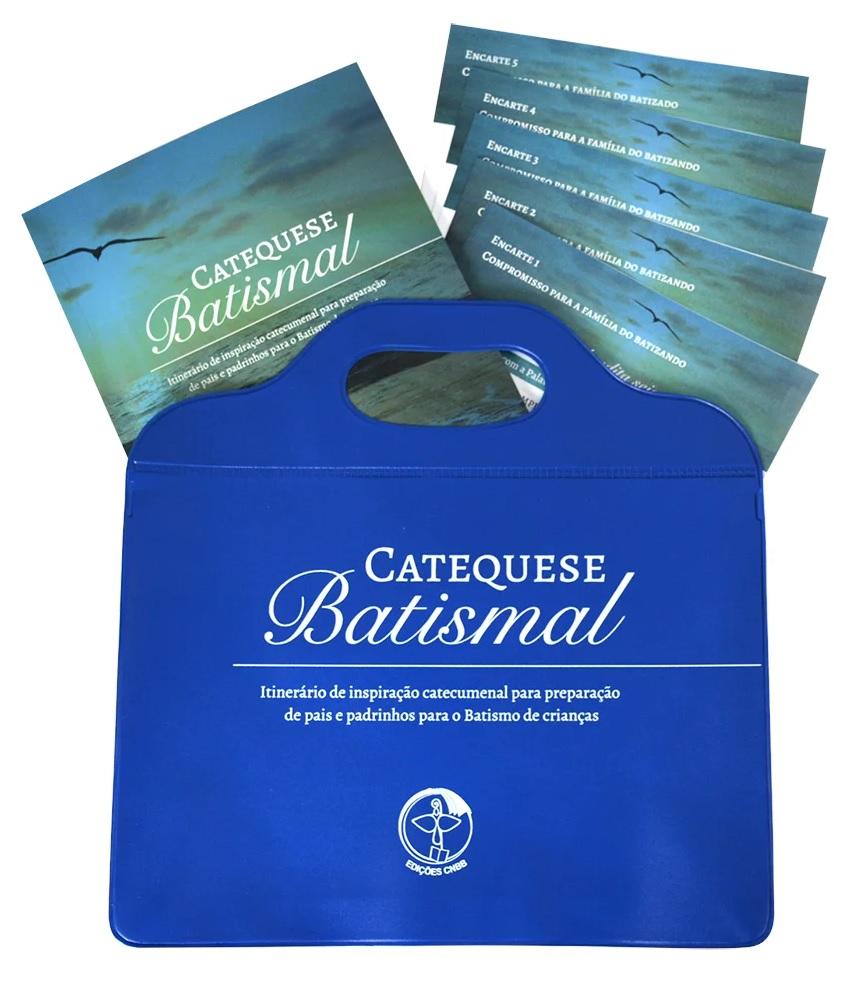 Kit Catequese Batismal - Bolsa/Livro/Encartes