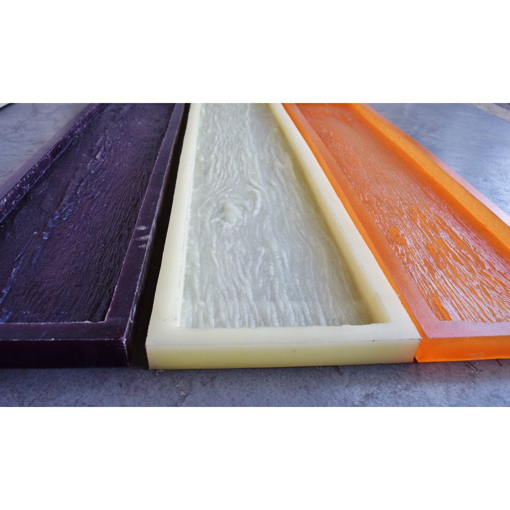 Conjunto de 3 formas - Madeira Rústica (Dormente) - 100 x 20cm