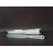Espátulas Plásticas de 12,5 cm (conjunto com 5 unidades)