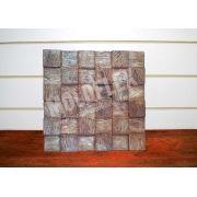 Forma Flexível - modelo Mosaico Madeira Demolição - 50 x 50 cm