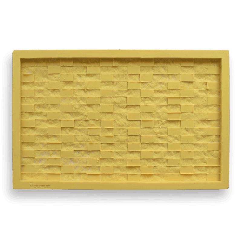 Forma Flexível - modelo Canjiquinha Travertino - 32cm x 52cm
