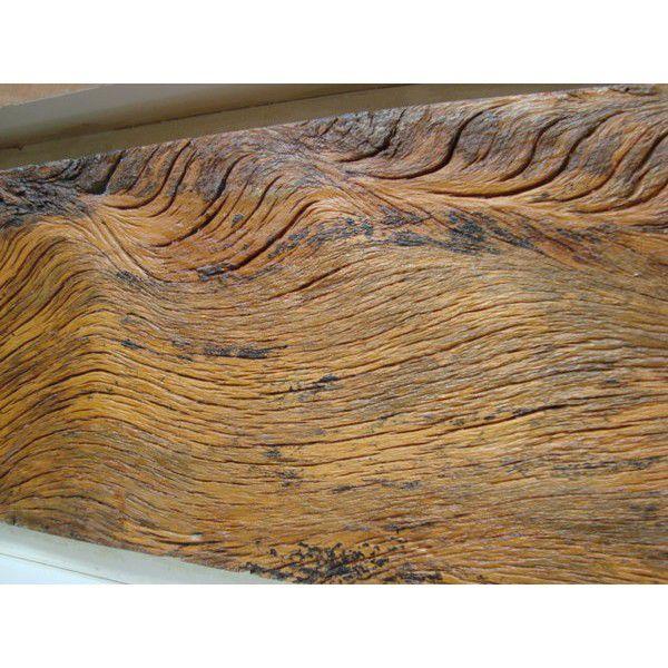 Forma Flexível - Texturas Madeira de Demolição - 100 x 20 cm