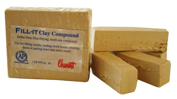 Fill-It Clay Compound - Plastilina Para Berço de Molde -  453g