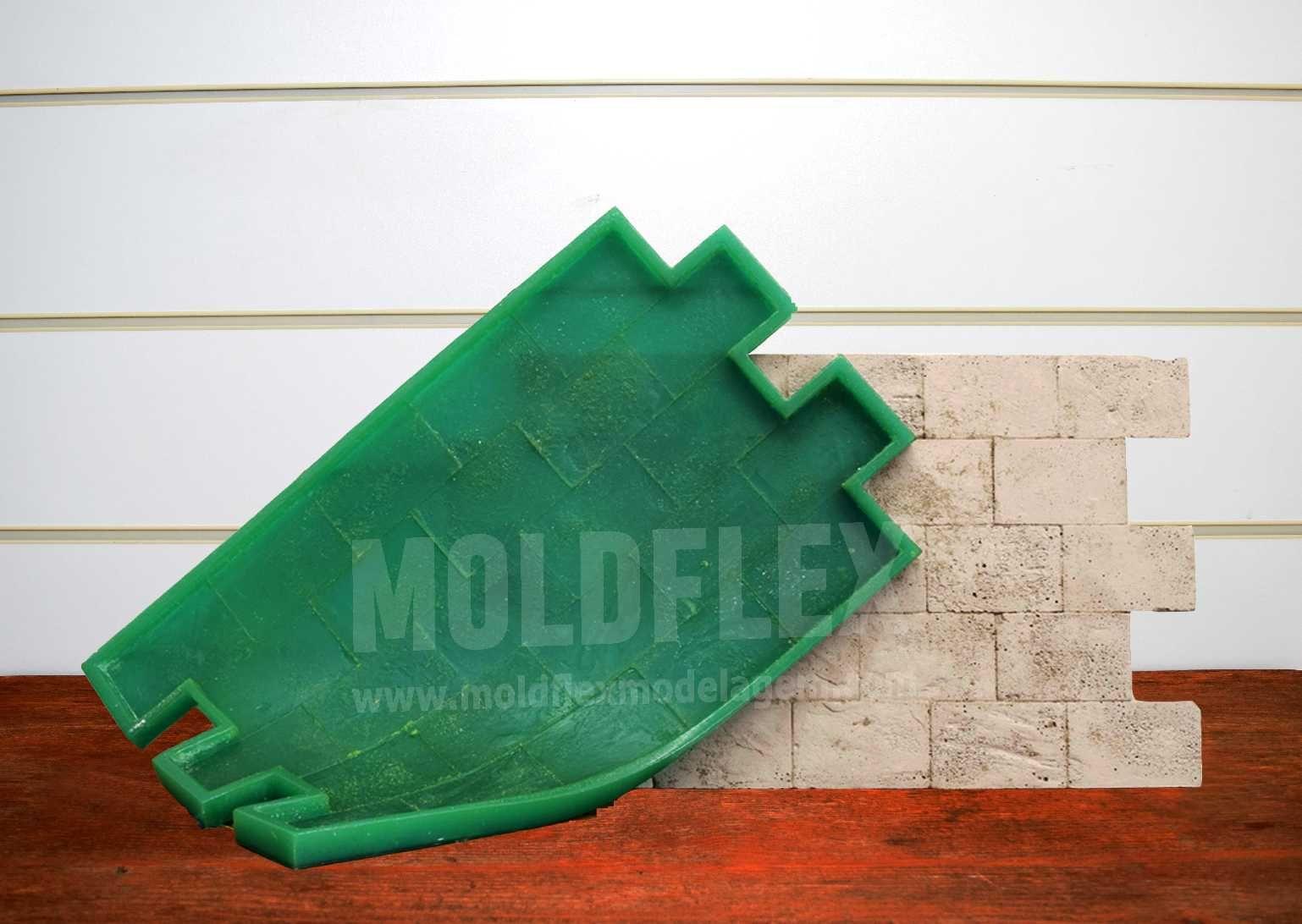 Forma Flexível - modelo Ladrilho Viena - 55cm x 35cm