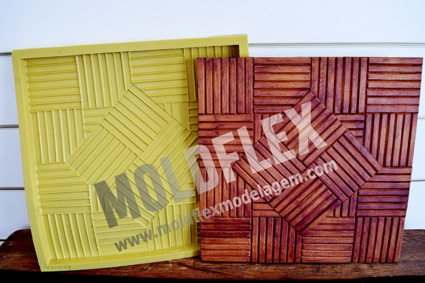 Forma Flexível - modelo Mini Deck Invertido 40 x 40 cm