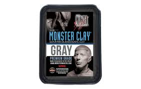 MONSTER CLAY® GRAY  - 2,268KG