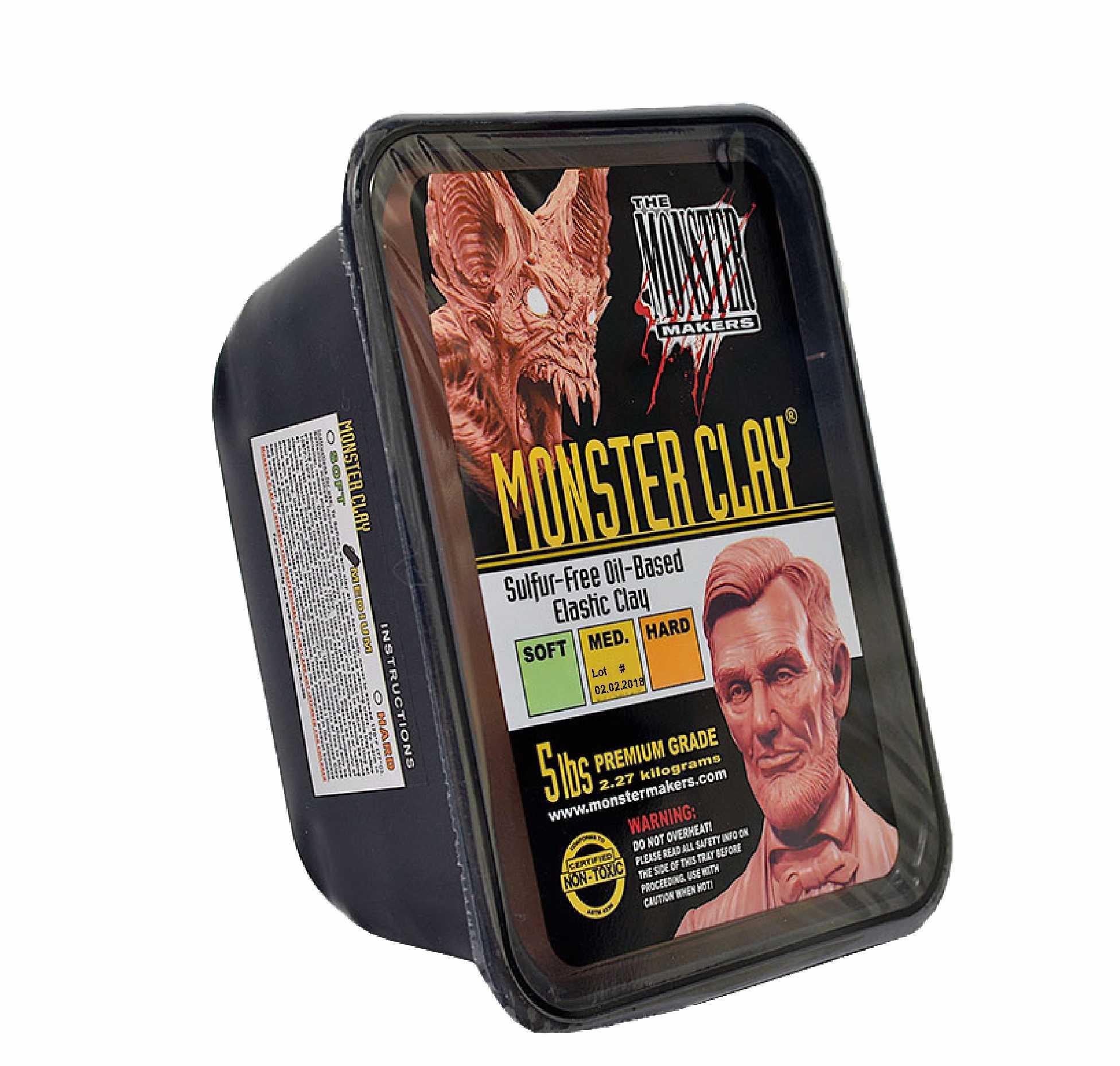 Monster Clay® MEDIUM - 2,268kg