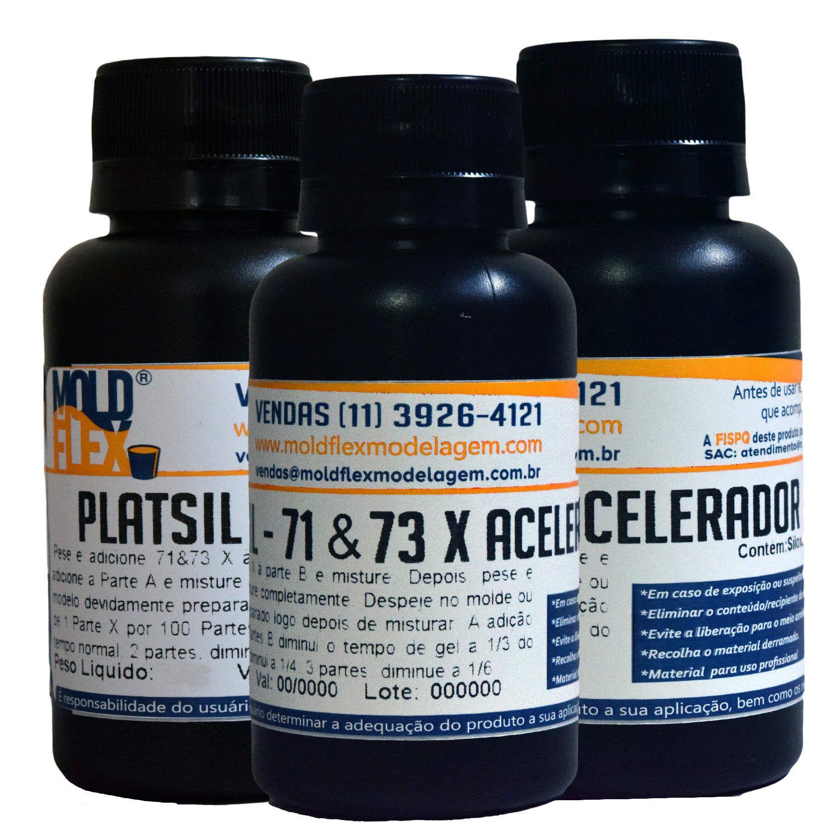 PlatSil 71/73X - Acelerador
