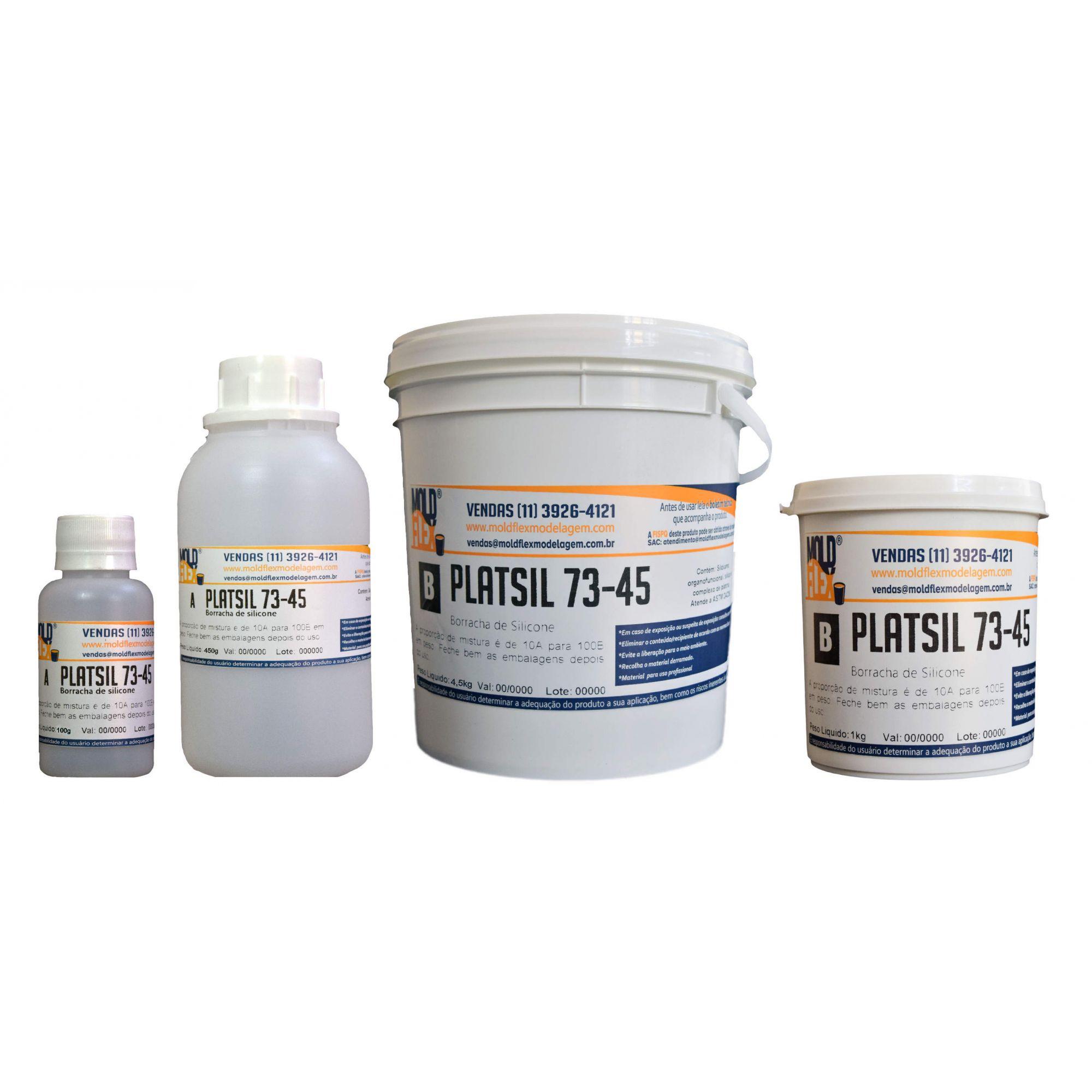 PlatSil 73-45 -  Silicone Líquido para moldes