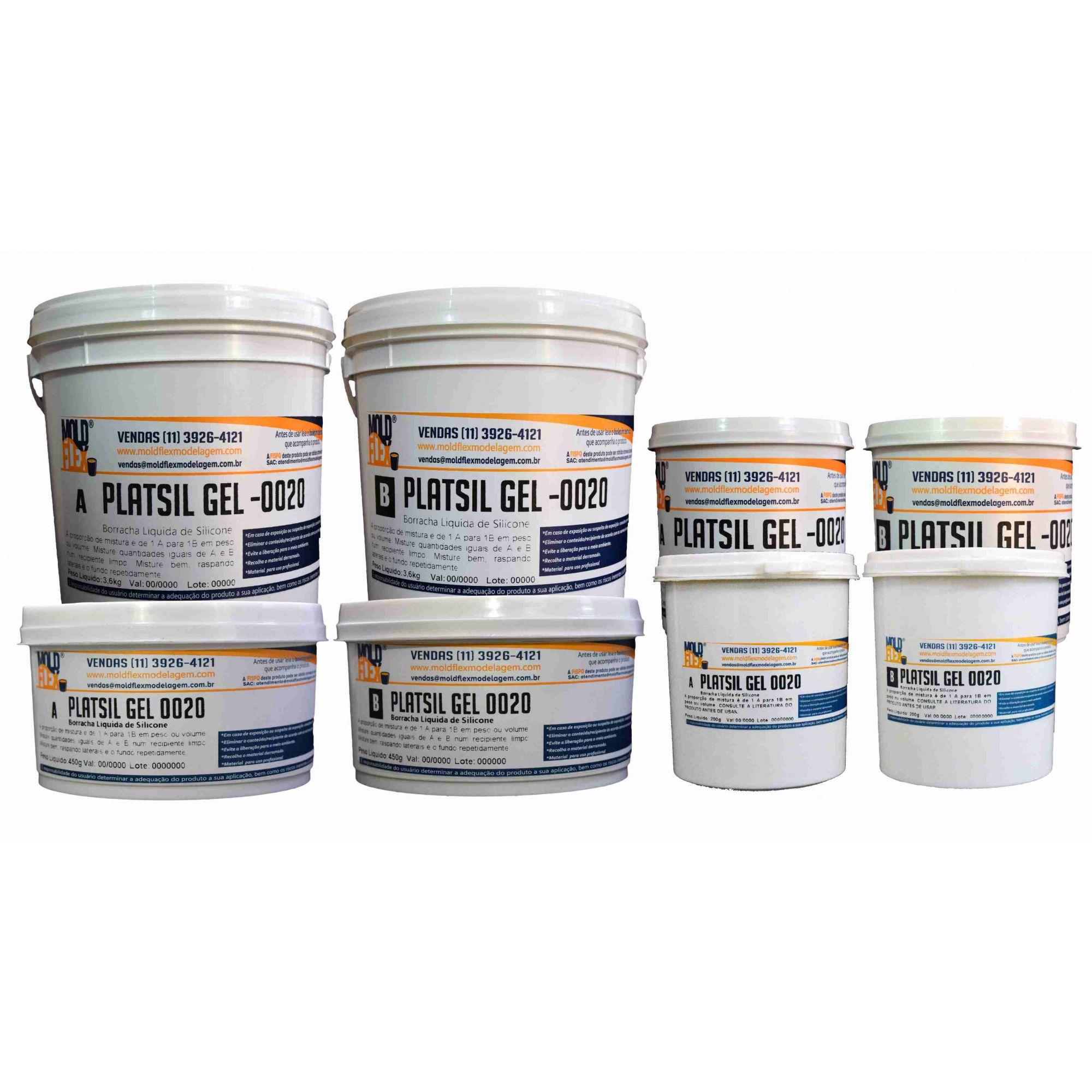 PlatSil Gel 0020 - Silicone Platinum
