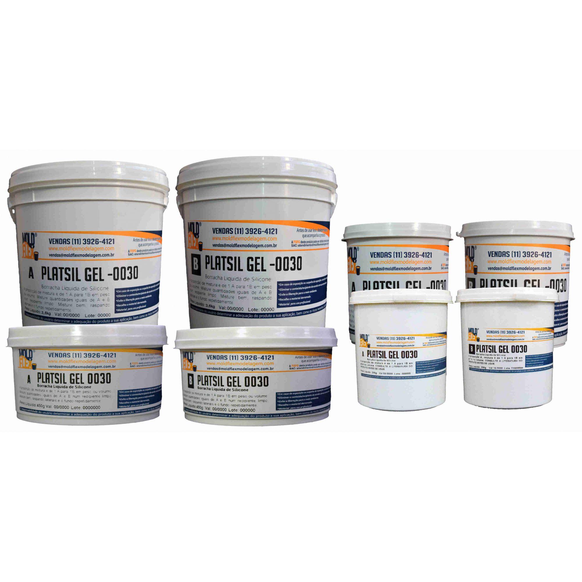 PlatSil Gel 0030 - Silicone Platinum