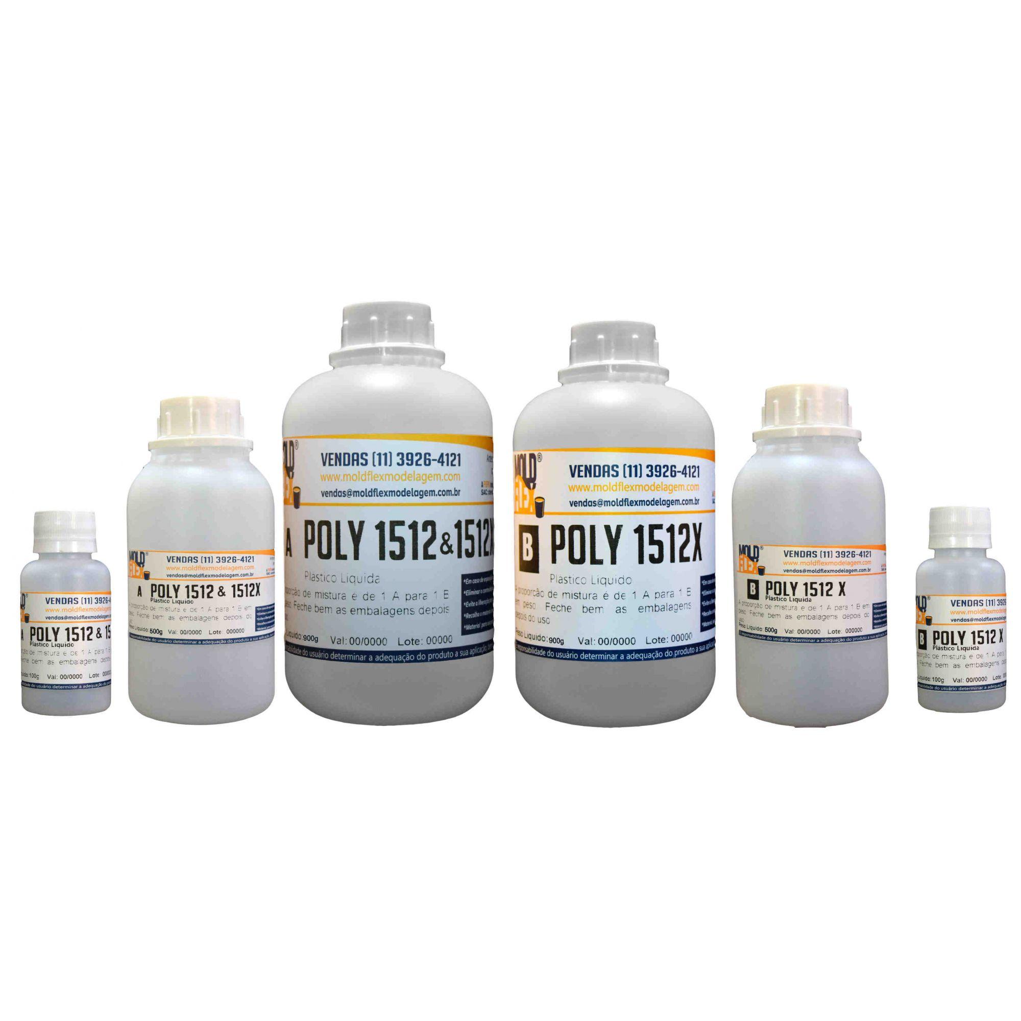 Poly 1512X - Plástico Líquido de Poliuretano