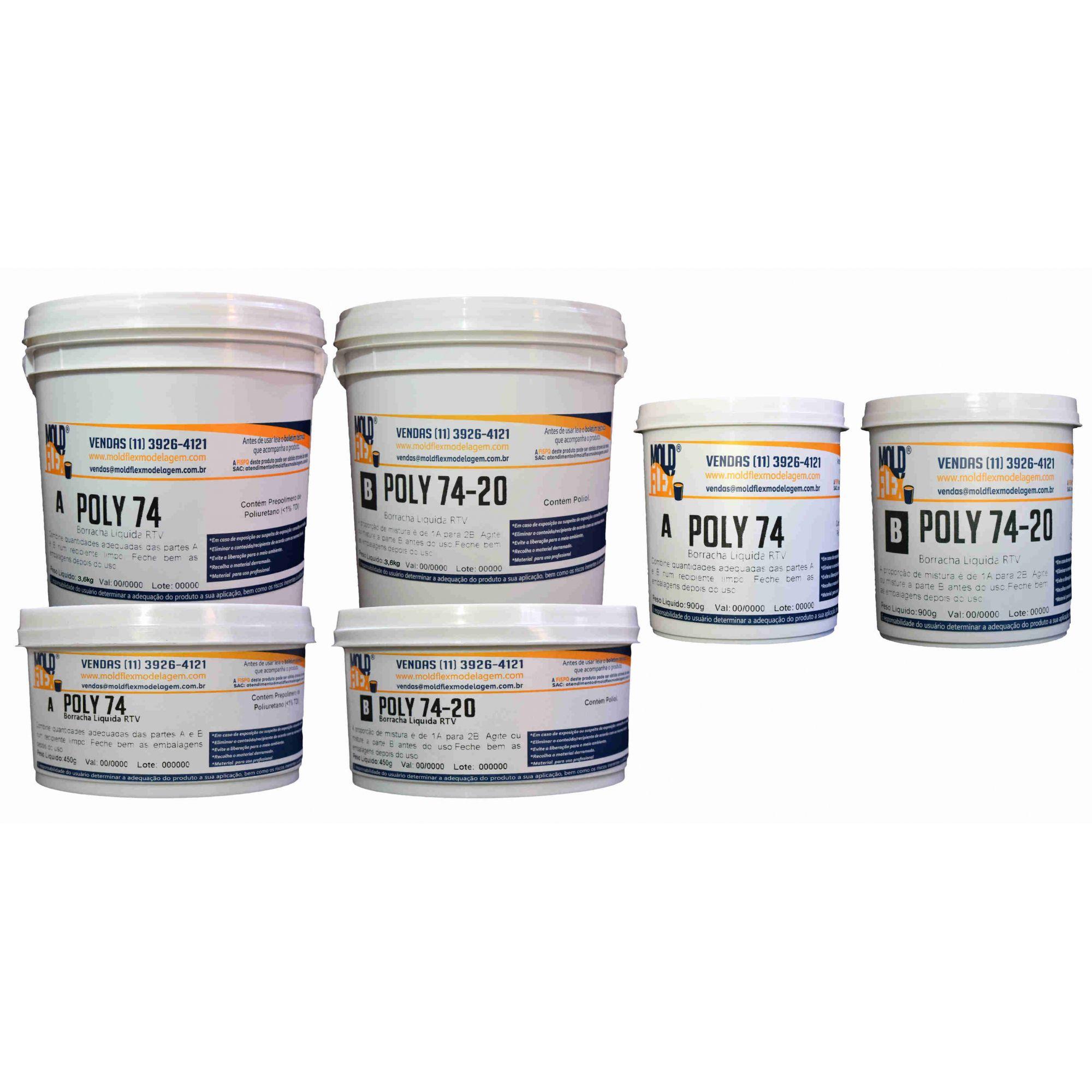 Poly 74-20 - Borracha de Poliuretano
