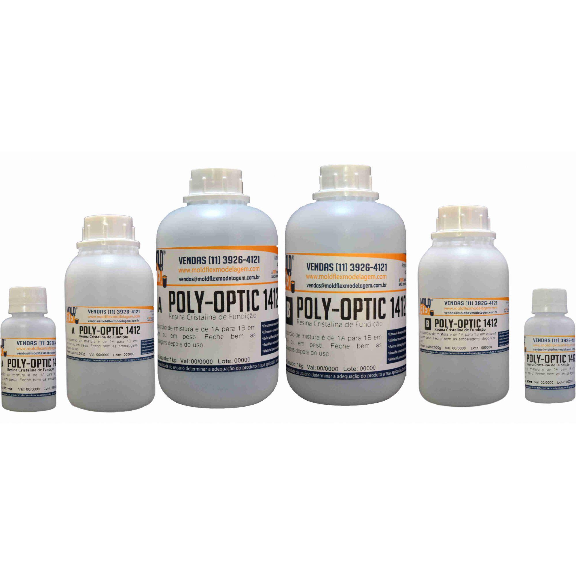 Poly-Optic 1412 Plástico Líquido de Poliuretano