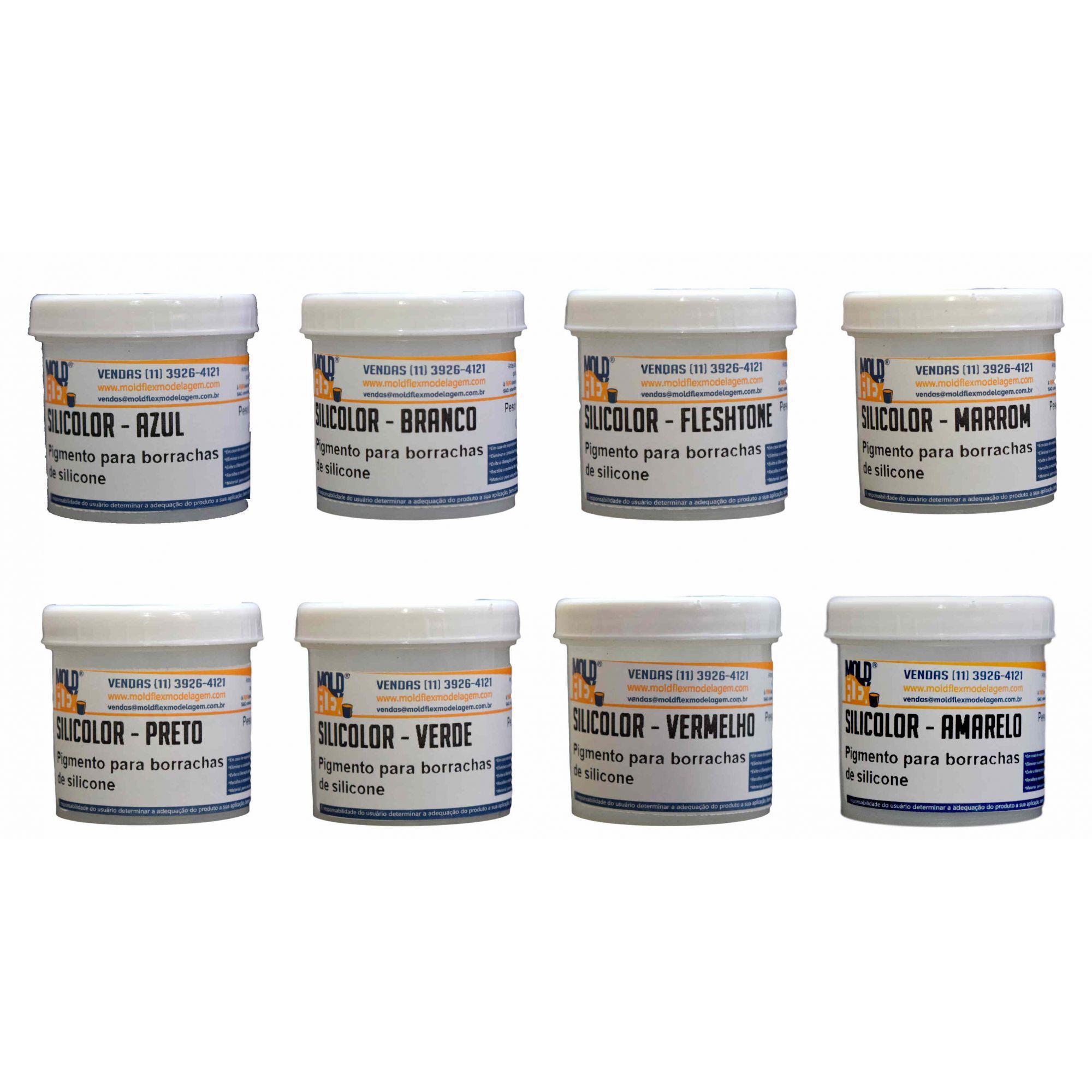 Silicolor - Pigmento para Silicones.
