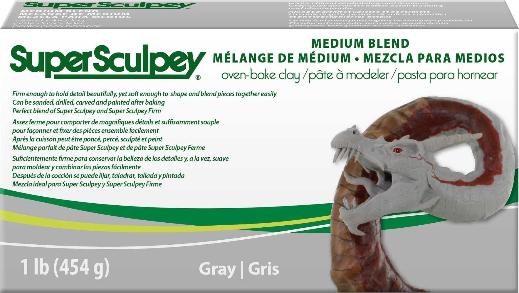 SUPER SCULPEY® MEDIUM BLEND